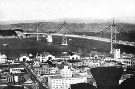 Vintage San Francisco - Oakland Bay Bridge, San Francisco, CA #2