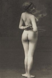 Vintage Nudes - Three-Quarter Pose in Stormy Setting