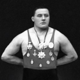 Vintage Muscle Men - A Chestful of Awards