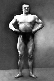 Vintage Muscle Men - Strongman Pose