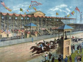 NY Litho - Brighton Beach Race Course