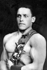 Vintage Wrestler - Russian Wrestler with Medals
