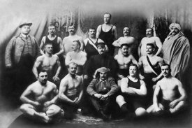 Vintage Wrestler - Group of Russian Wrestlers