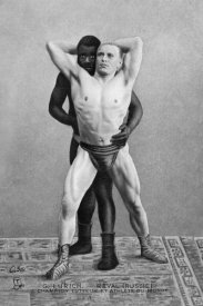 Vintage Wrestler - Champion Russian Wrestler