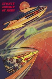 Retrosci-fi - Atomic Airships of Mars