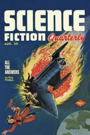 Retrosci-fi - Science Fiction Quarterly: Comet Crashes into Rocket