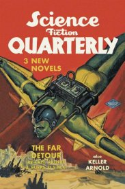 Retrosci-fi - Science Fiction Quarterly: Rocket Man Attacks