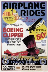Unknown - Airplane Rides: Inman Bros. Flying Circus