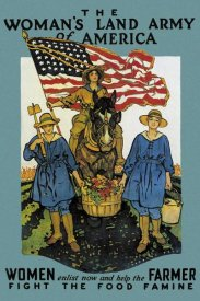 Herbert A. Paus - The Woman's Land Army of America, 1918
