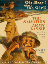 Unknown - The Salvation Army Lassie