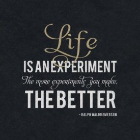 BG.Studio - Quote - Emerson - Life is an Experiment