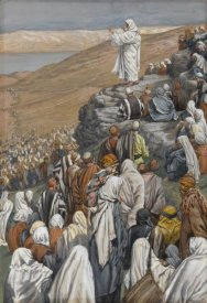 James Tissot - The Sermon of the Beatitudes, The Life of Our Lord Jesus Christ, 1886-1894