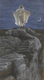 James Tissot - Jesus Goes Up Alone onto a Mountain to Pray, The Life of Our Lord Jesus Christ, 1886-1894
