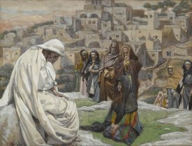 James Tissot - Jesus Wept, The Life of Our Lord Jesus Christ, 1886-1894