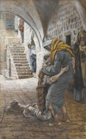 James Tissot - The Return of the Prodigal Son, The Life of Our Lord Jesus Christ, 1886-1894