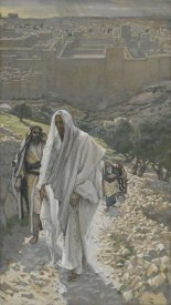 James Tissot - Jesus Goes in the Evening to Bethany, The Life of Our Lord Jesus Christ, 1886-1894