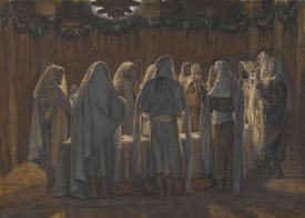James Tissot - The Last Supper, The Life of Our Lord Jesus Christ, 1886-1894