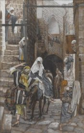 James Tissot - Saint Joseph Seeks a Lodging in Bethlehem, The Life of Our Lord Jesus Christ, 1886-1894