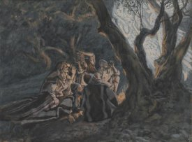 James Tissot - The Angel and the Shepherds, The Life of Our Lord Jesus Christ, 1886-1894