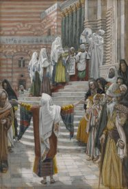James Tissot - The Presentation of Jesus in the Temple, The Life of Our Lord Jesus Christ, 1886-1894