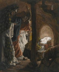 James Tissot - The Adoration of the Magi, The Life of Our Lord Jesus Christ, 1886-1894