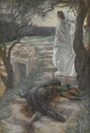 James Tissot - Touch Me Not, The Life of Our Lord Jesus Christ, 1886-1894
