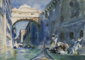 John Singer Sargent - The Bridge of Sighs, ca. 1903-1904