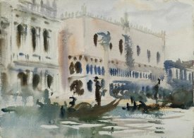 John Singer Sargent - From the Gondola, ca. 1903-1904