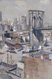 Joseph Pennell - Brooklyn Bridge, before 1921