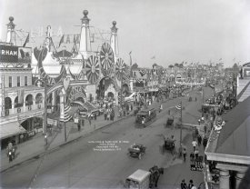 Irving Underhill - Luna Park and Surf Avenue, Coney Island, 1912