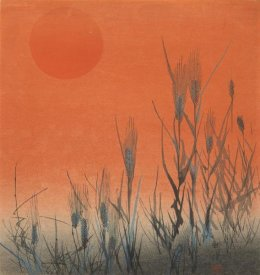 Kogyo Terazaki - Rice at Sunset, ca. 1890-1895