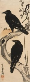 Kawanabe Kyosai - Two Crows, ca. 1870