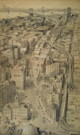Harry M. Pettit - Proposed Approach in the Borough of Brooklyn to the Brooklyn Bridge, ca. 1912