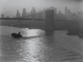 Consuelo Kanaga - Untitled, (Brooklyn Bridge), 1922-1924