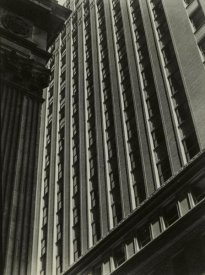 Consuelo Kanaga - Untitled, (Architectural Abstraction, New York), 1930s or 1940s