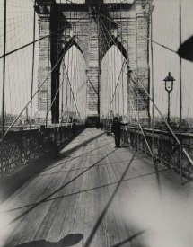 Breading G. Way - East River Bridge, ca. 1888