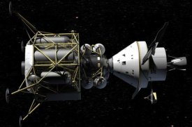 NASA - Altair and Orion spacecraft: conceptual rendering