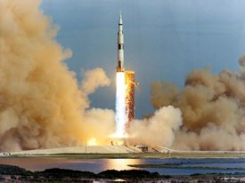 NASA - Launch of the Apollo 15 Mission to the Moon, 1971