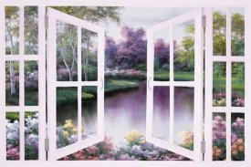 Diane Romanello - Springtime Symphony through Door