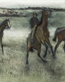 Edgar Degas - Race Horses (right)