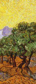 Vincent van Gogh - Olive Trees With Yellow Sky And Sun (right)