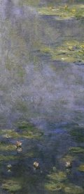 Claude Monet - Water Lilies (Nympheas) IV (center)