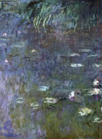 Claude Monet - Water Lilies: Morning, c. 1914-26 (right)