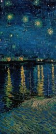 Vincent van Gogh - Starlight Over the Rhone (center)