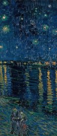 Vincent van Gogh - Starlight Over the Rhone (right)