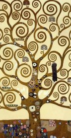 Gustav Klimt - The Stoclet Frieze (center)