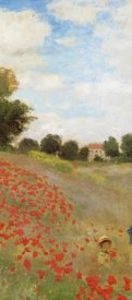 Claude Monet - Field Of Poppies (Les Coquelicots) 1873 (center)