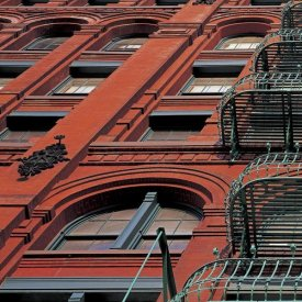 Richard Berenholtz - The Puck Building Facade, Soho, NYC (left)