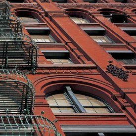 Richard Berenholtz - The Puck Building Facade, Soho, NYC (right)