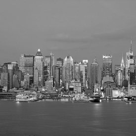 Richard Berenholtz - Manhattan Skyline, NYC (center)